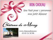 Bon Cadeau Chambre d'Hôte Château de Morey 54610 Belleau du 01-01-2017 à 06:00 au 31-12-2017 à 21:59