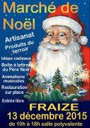 Marché de Noël de Fraize  88230 Fraize du 13-12-2015 à 08:00 au 13-12-2015 à 16:00
