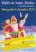Défilé de Saint-Nicolas à Etival-Clairefontaine 88480 Étival-Clairefontaine du 06-12-2015 à 14:15 au 06-12-2015 à 18:00