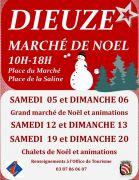 Marché de Noël à Dieuze 57260 Dieuze du 05-12-2015 à 08:00 au 20-12-2015 à 16:00
