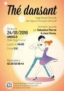 Thé Dansant à Anould 88650 Anould du 24-01-2016 à 12:30 au 24-01-2016 à 16:30