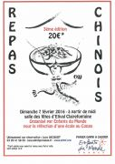 Repas Chinois Solidaire à Etival-Clairefontaine 88480 Étival-Clairefontaine du 07-02-2016 à 10:00 au 07-02-2016 à 12:30