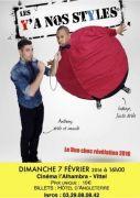 Spectacle Humour Duo Comique Bons Vivants Vittel 88800 Vittel du 07-02-2016 à 14:00 au 07-02-2016 à 16:00