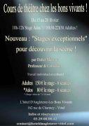 Stage Théâtre Bons Vivants à Vittel 88800 Vittel du 15-02-2016 à 08:00 au 20-02-2016 à 20:30