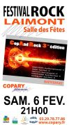 Festival Rock à Laimont Cop And Rock 55800 Laimont du 06-02-2016 à 19:00 au 06-02-2016 à 21:59