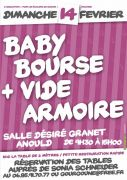 Baby Bourse Vide-Armoire à Anould 88650 Anould du 14-02-2016 à 07:00 au 14-02-2016 à 13:00