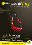 Salon Insolites diVINS à Thaon-les-Vosges 88150 Thaon-les-Vosges du 04-03-2016 à 12:00 au 06-03-2016 à 16:00