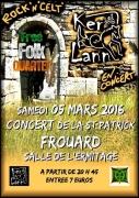 Concert Folk Musique Celte à Frouard 54390 Frouard du 05-03-2016 à 18:30 au 05-03-2016 à 21:59