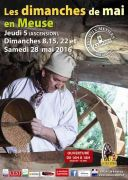Vieux Métiers Azannes : Dimanches de Mai en Meuse 55150 Azannes-et-Soumazannes du 05-05-2016 à 08:00 au 28-05-2016 à 16:00