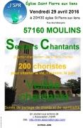 Veillée Chantante à Moulins-lès-Metz 57160 Moulins-lès-Metz du 29-04-2016 à 18:30 au 29-04-2016 à 20:30
