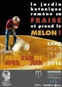 Exposition Fruits au Jardin Botanique Nancy 54600 Villers-lès-Nancy du 22-04-2016 à 07:30 au 22-11-2016 à 15:00
