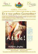 Soirée Théâtre Gourmand à Fléville 54710 Fléville-devant-Nancy du 30-04-2016 à 18:30 au 30-04-2016 à 21:00