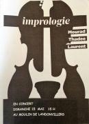 Concert de Jazz au Moulin de Landonvillers 57530 Courcelles-Chaussy du 15-05-2016 à 13:00 au 15-05-2016 à 15:00