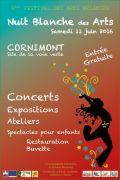 Nuit Blanche Festival des Arts mélangés Cornimont 88310 Cornimont du 04-06-2016 à 09:00 au 11-06-2016 à 21:00