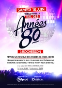 Bal des Années 80 à Rochesson 88120 Rochesson du 18-06-2016 à 19:00 au 19-06-2016 à 01:00
