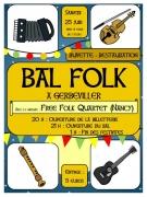 Bal Folk à Gerbéviller 54830 Gerbéviller du 25-06-2016 à 19:00 au 25-06-2016 à 23:00