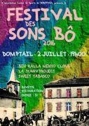 Festival des Sons Bô à Domptail 88700 Domptail du 02-07-2016 à 17:00 au 03-07-2016 à 00:00