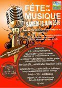 Fête de la Musique à Champigneulles 54250 Champigneulles du 18-06-2016 à 14:00 au 18-06-2016 à 23:00
