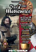 7èmes Médiévales Européennes de Bitche 57230 Bitche du 22-07-2016 à 19:00 au 24-07-2016 à 21:59