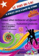 Soirée Salsa au Toit du Lac Gérardmer Beau Rivage 88400 Gérardmer du 08-07-2016 à 19:00 au 08-07-2016 à 21:59