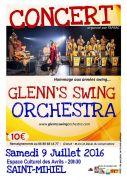 Concert Glenn's Swing Orchestra à Saint-Mihiel 55300 Saint-Mihiel du 09-07-2016 à 18:30 au 09-07-2016 à 20:30