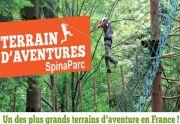 SpinaParc Epinal Parcours Accrobranche Vosges 88000 Epinal du 06-07-2016 à 08:00 au 31-08-2016 à 18:00