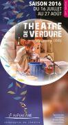 12ème Edition du Théâtre de Verdure à Vagney 88120 Vagney du 16-07-2016 à 16:00 au 27-08-2016 à 20:30