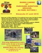Randonnée Canine Déguisée à Bois-de-Champ 88600 Bois-de-Champ du 21-08-2016 à 07:30 au 21-08-2016 à 14:30