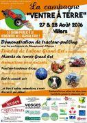 La Campagne Ventre à Terre à Villers Agriculteurs 88500 Villers du 27-08-2016 à 12:00 au 28-08-2016 à 16:00