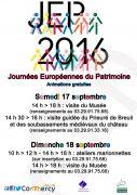 Journées du Patrimoine Musée de la Céramique et de l'Ivoire 55200 Commercy du 17-09-2016 à 12:00 au 18-09-2016 à 16:00
