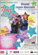 Repas Dansant Noël de Joie à Hagondange 57300 Hagondange du 01-10-2016 à 18:30 au 01-10-2016 à 21:59