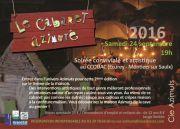 Cabaret Azimuté à Ecurey Montiers-sur-Saulx 55290 Montiers-sur-Saulx du 24-09-2016 à 17:00 au 24-09-2016 à 20:00