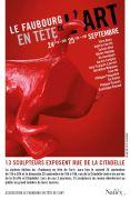 Le Faubourg en Tête de l'Art à Nancy 54000 Nancy du 24-09-2016 à 09:00 au 25-09-2016 à 17:00