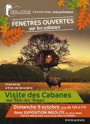 Fenêtres Ouvertes Cabanes Nids des Vosges à Champdray 88640 Champdray du 09-10-2016 à 11:00 au 09-10-2016 à 15:00