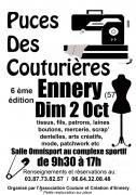 Puces des Couturières à Ennery 57365 Ennery du 02-10-2016 à 07:30 au 02-10-2016 à 15:00