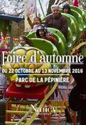 Foire d'Automne à Nancy 54000 Nancy du 22-10-2016 à 11:30 au 13-11-2016 à 17:00