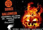 Halloween au Bar Chez Jeanne St Maurice-sur-Moselle 88560 Saint-Maurice-sur-Moselle du 29-10-2016 à 19:30 au 29-10-2016 à 21:59