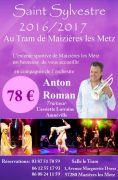 Soirée Réveillon Nouvel An Maizières-Lès-Metz 57280 Maizières-lès-Metz du 31-12-2016 à 18:30 au 01-01-2017 à 02:00