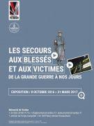 Exposition Secours et Guerres au Mémorial de Verdun 55100 Fleury-devant-Douaumont du 08-10-2016 à 07:30 au 31-03-2017 à 15:00