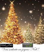 Réveillon Noël à Gérardmer Hôtel de la Paix 88400 Gérardmer du 24-12-2016 à 12:30 au 24-12-2016 à 20:00