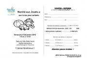 Marché aux Jouets et Livres à Sainte-Geneviève 54700 Sainte-Geneviève du 04-12-2016 à 08:30 au 04-12-2016 à 14:00