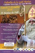 Festivités St Nicolas Saint-Nicolas-de-Port 54210 Saint-Nicolas-de-Port du 03-12-2016 à 12:00 au 03-12-2016 à 16:00