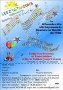 Soirée Saint-Sylvestre à Dombasle Les Z'Ultrasons 54110 Dombasle-sur-Meurthe du 31-12-2016 à 17:30 au 01-01-2017 à 01:00