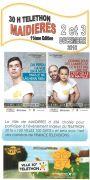Téléthon 2016 30h Téléthon de Maidières 54700 Maidières du 02-12-2016 à 16:00 au 03-12-2016 à 21:59