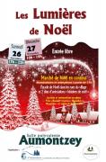 Marché de Noël Aumontzey Les Lumières de Noël 88640 Aumontzey du 26-11-2016 à 15:00 au 27-11-2016 à 17:00