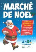 Marché de Noël à Ars-sur-Moselle 57130 Ars-sur-Moselle du 03-12-2016 à 08:00 au 04-12-2016 à 15:00