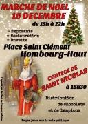 Marché de Noël et Saint Nicolas à Hombourg-Haut 57470 Hombourg-Haut du 10-12-2016 à 13:00 au 10-12-2016 à 20:00