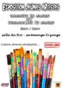 Exposition Jeunes Artistes à Serémange-Erzange 57290 Serémange-Erzange du 18-03-2017 à 11:00 au 19-03-2017 à 14:00