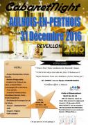 Réveillon Nouvel An Aulnois-en-Perthois  55170 Aulnois-en-Perthois du 31-12-2016 à 18:30 au 01-01-2017 à 01:00