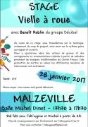 Stage de Vielle à Roue à Malzéville 54220 Malzéville du 28-01-2017 à 11:30 au 28-01-2017 à 15:00